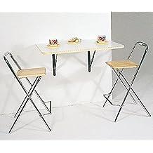 Ideas de mesitas, mesas, consolas transformables, abatibles de pared, mesas de cocina, mesas plegables.