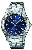 Casio MTP1243D2A - Reloj de Caballero metálico Azul