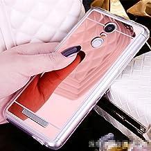 Funda Espejo Silicona Gel Tpu para Xiaomi Redmi Note 3 / Redmi Note 3 Pro Color Rosado