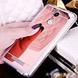 Funda Espejo Silicona Gel Tpu para Xiaomi Redmi Note 3 / Redmi Note 3 Pro Color Rosado