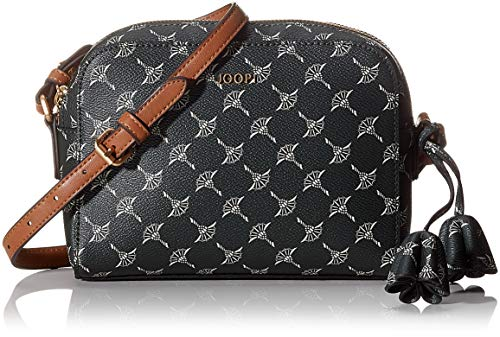 Joop! Damen Cortina Cloe Shoulderbag Shz Schultertasche, Grün (DarkGreen), 6x15x21 cm