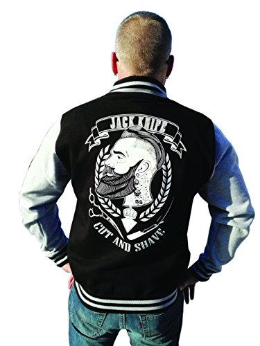 Knife College Jacke Retro Style Rockabilly Oldschool Barbershop (M) ()