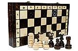 Wooden Magic PERLA XL - grande 41cm/16 adentro a mano juego de ajedrez...