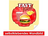 Best brotes Posters - Adhesivo Pared de Fast Food Stickers–Fáciles de pegar–Wall Review