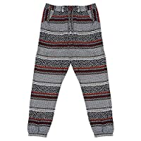 Get Wivvit Girls Ditsy Stripe Flower Funky Harem Pants Pull on Trousers Sizes from 12 Months to 7 Years