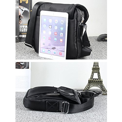 Fanmingsidi , Borsa Messenger  Nero Black Blue