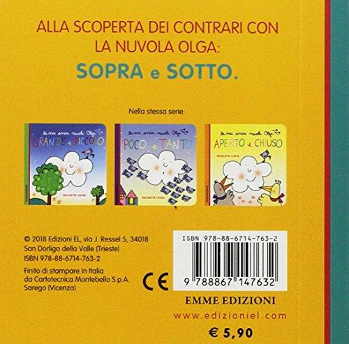 scaricare ebook gratis Sopra e sotto. La mia amica nuvola Olga. Ediz. a colori PDF Epub