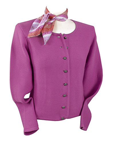 Trachten-Strickjacke Damen - Trachtenjacke/Dirndljacke/ Pink/Rosa - Top-Qualität