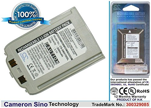 Akku für Samsung SGH-X670, SGH-X678 / Silver