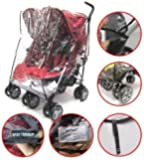 Baby Travel Universal Twin Side By Side Raincover