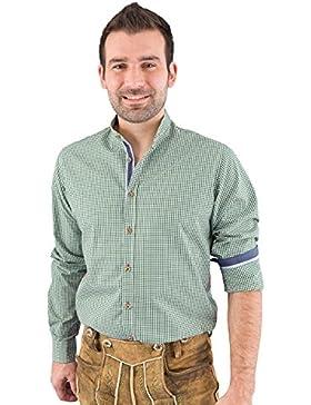 Pure Trachtenhemd Herren langarm C32603-11699 455
