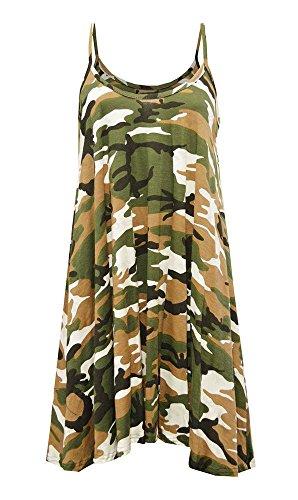 Generic - Robe - Robe - Sans Manche - Femme * taille unique camouflage
