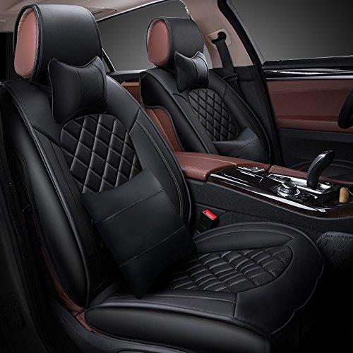 KFZ Sitzbezug deckt Set für Dodge Caliber Dodge Caravan Dodge Journey Dodge Nitro Dodge Ram Dodge Ram 1500Dodge Intrepid Dodge Stratus (Sicherheitsgurt Ram)