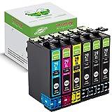 6 Packung GREENBOX Kompatibel Druckerpatronen Tintenpatronen Ersatz Kompatibel mit EPSON 29XL Kompatibel mit Epson Expression Home XP-330 XP-332 XP-335 XP-342 XP-345 XP-430 XP-235 XP-432 Drucker