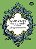Beethoven Symphonies Nos 1 2 3 And 4 (Full Score) (Dover Music Scores)
