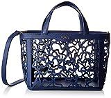 Tous Kaos Shock - Bolso de Mano para Mujer, Azul Marino, 28 x 21 x 14 cm