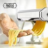 PAGILO Nudelmaschine (7 Stufen) für Spaghetti, Pasta und Lasagne | 2 Jahre Zufriedenheitsgarantie | Pastamaschine, Pastamaker - 6