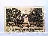 AK Wiesbaden, Denkmal, Kaiser Wilhelm I, Personen, Doppeltonkarte, Ungelaufen.