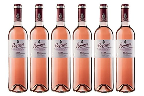 Beronia Rosado - Vino D.O.Ca. Rioja - 6 Botellas de 750 ml - Total: 4500 ml