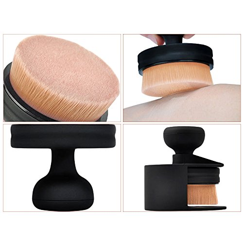 Runden Flat Foundation Make-up Pinsel lose Puderpinsel Beauty Kosmetik Pinsel Werkzeug (1 pcs...