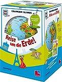 """Columbus Globus """"Reise um die Erde!"""": Leuchtglobus, Weltatlas und Begleitheft (WAS IST WAS Junior Edition) -"""