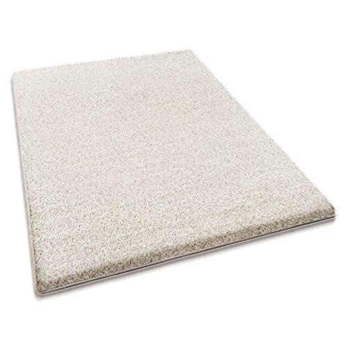 casa pura® hochwertiger Hochflor – Teppich für besonders weiches Laufgefühl   creme   4 Größen