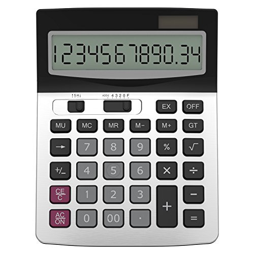 Helect H1006 Business Standard Function Desktop Calculator