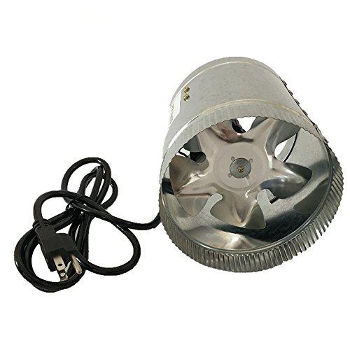 Hyindoor Haute Performance Ventilateur Système de Ventilation 150mm Ventilation d'échappement Ventilateur pour tente