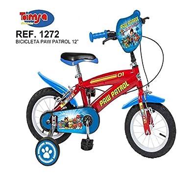 "Jugatoys Bicicleta 12"" Paw Patrol 3/5 AÑOS de Jugatoys"
