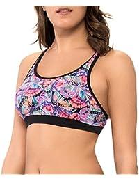 Body Glove Women's Crossover Fly Equalizer Sports Bra Top Bikini