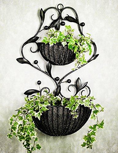 LB Moderno minimalista Ferro Fiore Rack parete ha appeso Flower