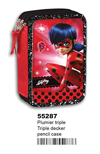 Montichelvo 3628729031 – Estuche triple ladybug