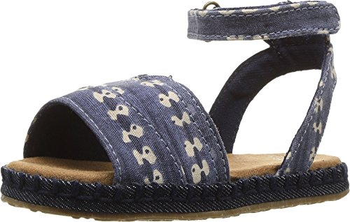 Malea Sand Schuh navy batik stripe navy-batik
