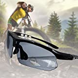 JTENG Fahrradbrillen Radbrille Sportbrille Polarisierte Brille Sunglasses zum Hiking Outdoor-Sport Brillen Ski , UV-Beständig Fahrrad Bike Polarisierte Radsportbrillen