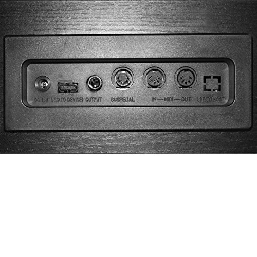 vidaXL Klassische Elektro 88-Tasten Digital Piano E-Piano Keyboard Klavier Notenablage - 8