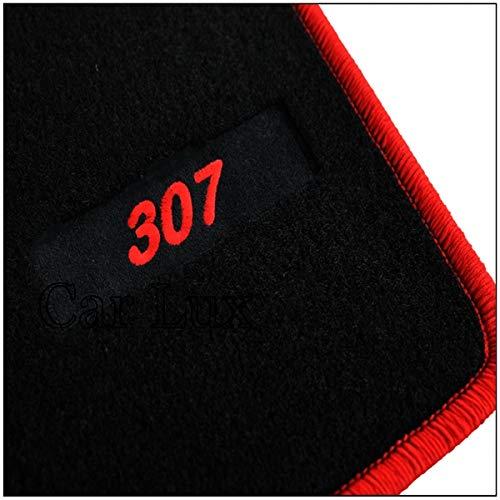 8X-SPEED pour 207 /épaulettes de la Ceinture de s/écurit/é Tapis de Protection de Ceinture /épauli/ère Sangle de Ceinture de s/écurit/é Housse Doux Confortable Antid/érapant 2 pi/èces Rouge