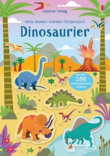 Mein Immer-wieder-Stickerbuch: Dinosaurier (Dinosaurier-sticker-buch)