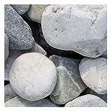Quarz Zierkies Weiss-Grau 1500kg Big Bag 8-16mm, 16-32mm, 30-60mm (30-60mm)