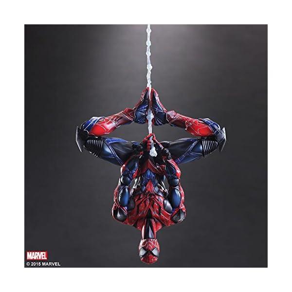 Square Enix Spiderman Marvel Universe Play Arts Kai Figura de acción 7
