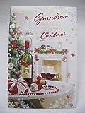 Unbekannt Fantastische Bunte to a Very Special Grandson Weihnachten Grußkarte