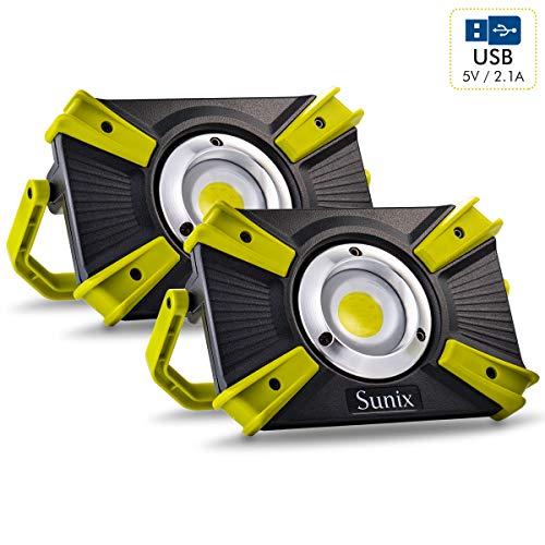 Foco Led Recargable 48 LEDS 30W Sunix