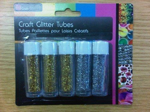 5-x-enfants-gamins-loisirs-creatifs-en-couleur-paillettes-tubes-or-et-argent