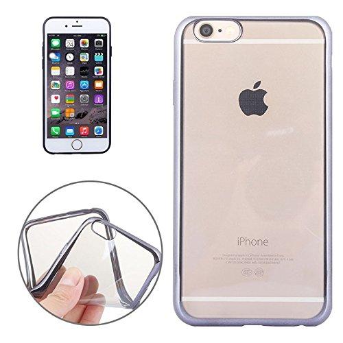 Phone case & Hülle Für iPhone 6 / 6s, Galvanisieren TPU Fall ( Color : Gold ) Black