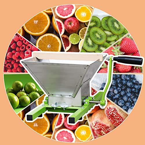 Hengda® 7 L Trituradora de Fruta Para Hacer Zumo, Sidra y Vino