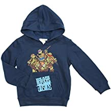 Niños Tortugas Ninja Mutantes Teenage Mutant Ninja Turtles DE JUSTICIA Suéter Sudadera Con Capucha Tallas de 3A 8 años