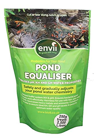 Envii Pond Equaliser - Instantly Balance Buffer and Stabalises Safe pH, KH and GH Levels to Make Perfect Pond Environment (250g)