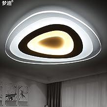 JJ Moderne LED Deckenleuchte Getrennt Wird Dimmbar Deckenlampe Persnlichkeit Kreative Kleines Wohnzimmer Beleuchtung Minimalistische Studie