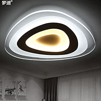 Jj moderne led deckenleuchte getrennt wird dimmbar for Moderne deckenlampen led