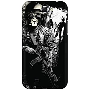 URBAN KOLOURS Original Designer Printed Hard Case Back Cover for Samsung Galaxy Note 2 (Cat Swat)