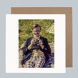 Sagen Käse, 1960IST–Vintage Retro Kamera Grußkarte für Ihn von Honovi Cards